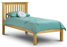 Barcelona Pine Low Foot End Bed Single 90cm
